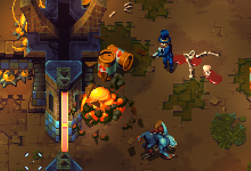 The Destructive Pixel Art designs of Tower 57