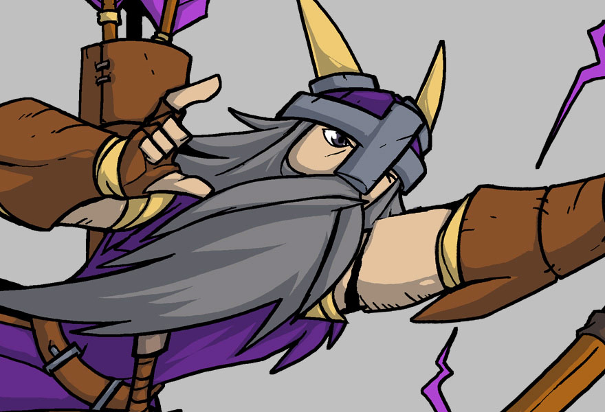 Designing and Animating the Cast of Characters in Viking Squad