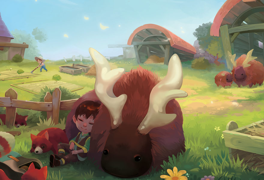 Making the world of Yonder feel colorful, cute, and alive