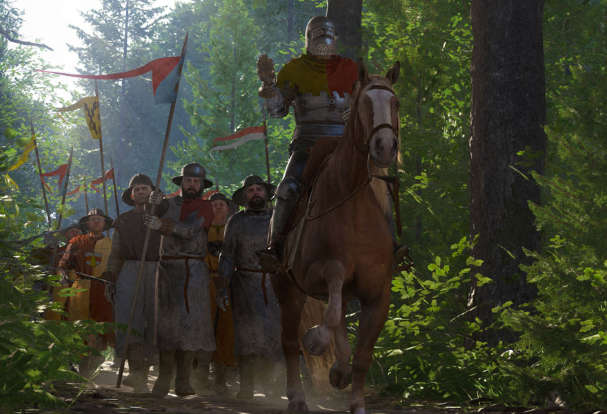 Realizing Medieval Bohemia in Kingdom Come: Deliverance